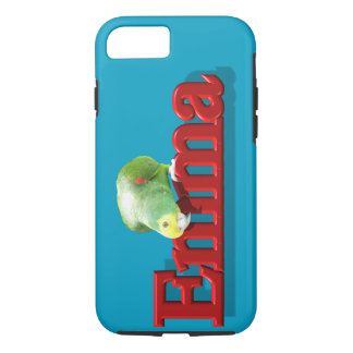 Emma's Phone Case with Parrot