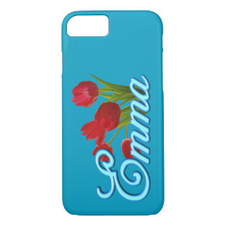 Emma's Phone Case with Tulips