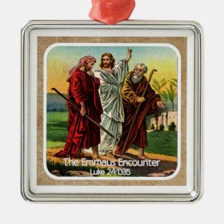 Emmaus Encounter Custom Ornament