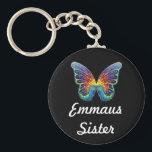 "Emmaus Sister Keychain<br><div class=""desc"">The Walk to Emmaus. A spiritual experience. Emmaus Sisters in Christ</div>"