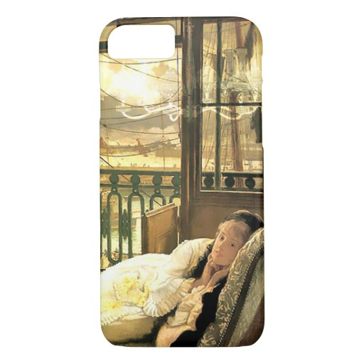 Emmeline Daydreaming in Gold and Yellow iPhone 8/7 Case
