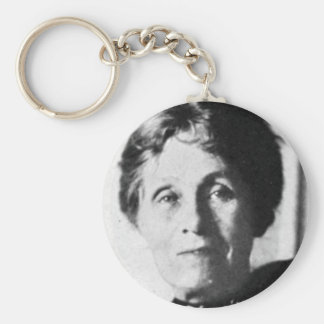Emmeline Pankhurst Basic Round Button Keychain