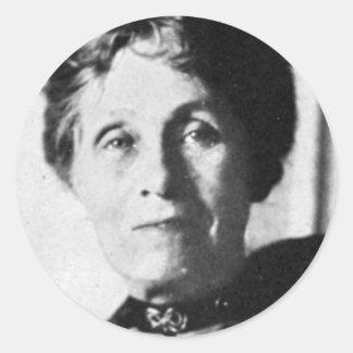 Emmeline Pankhurst Classic Round Sticker