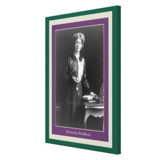 Emmeline Pankhurst Gallery Wrapped Canvas