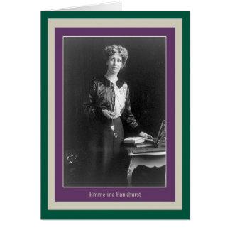 Emmeline Pankhurst Tarjetas