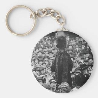 Emmeline Pankhurst - Wall St.  Basic Round Button Keychain