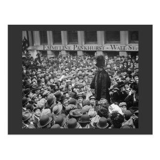Emmeline Pankhurst - Wall Street Postal