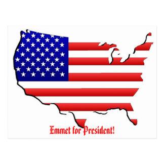 Emmet for President Postcard