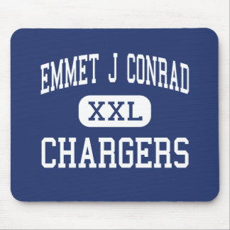 Emmet J Conrad - Chargers - High - Dallas Texas Mouse Pad