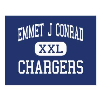 Emmet J Conrad - Chargers - High - Dallas Texas Postcard