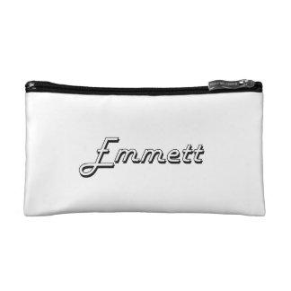 Emmett Classic Retro Name Design Makeup Bag