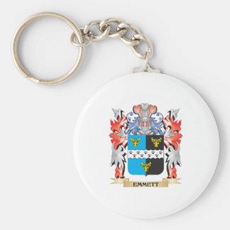 Emmett Coat of Arms - Family Crest Keychain