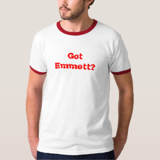 ¿Emmett conseguido? Playera