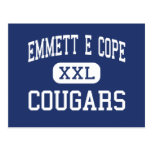 Emmett E Cope Cougars Middle Bossier City Post Card
