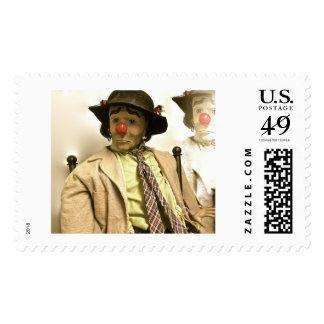 Emmett Kelly as Weary Willie Clown Postage Stamps
