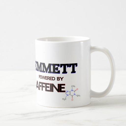 Emmett powered by caffeine coffee mug