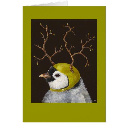 Emmett the penguin card