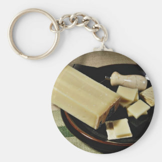 Emmi Cave Aged Gruycre Cheese Keychain
