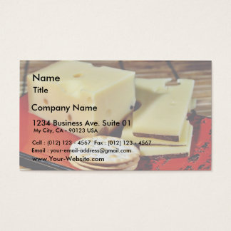 Emmi Emmentaler Cheese Business Card
