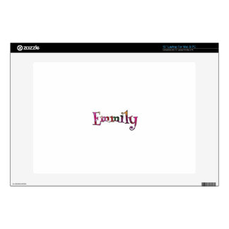 "Emmily Minimalist Laptop Protective Skin: Mac/PC Decal For 13"" Laptop"