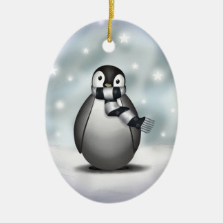 Emmy the Emperor Penguin - Ornament