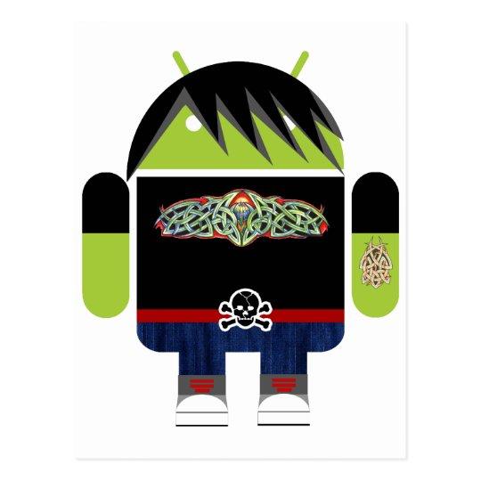Emo Andy el androide Postal