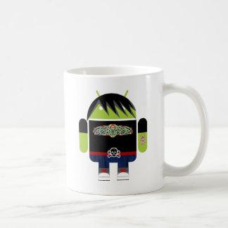 Emo Andy el androide Taza De Café