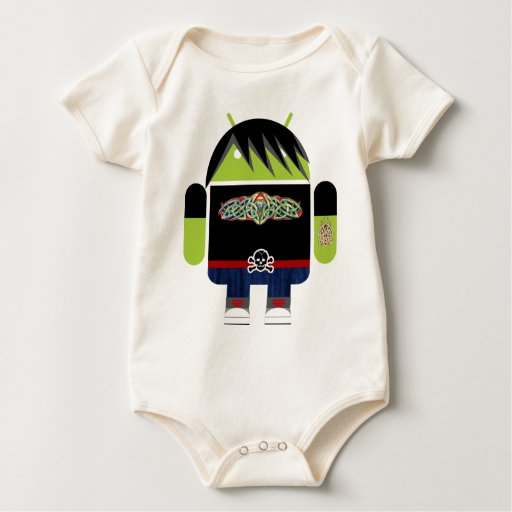 Emo Andy the Android Bodysuits