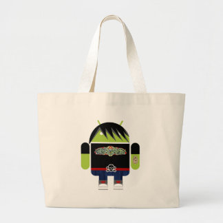 Emo Andy the Android Canvas Bag