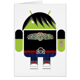 Emo Andy the Android Card