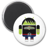 Emo Andy the Android Fridge Magnet