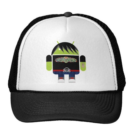 Emo Andy the Android Trucker Hat