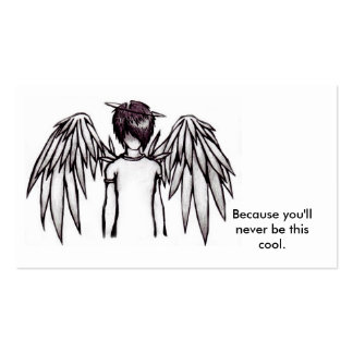 Emo_Angel_Boy_by_Skissored, Because you'll neve... Business Card