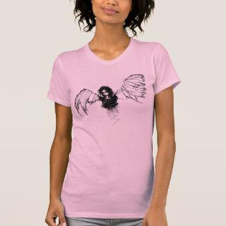 emo angel ringer T-Shirt
