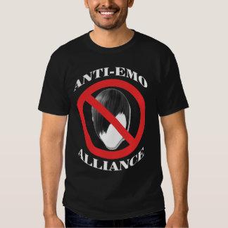 Emo anti Alliance Playera