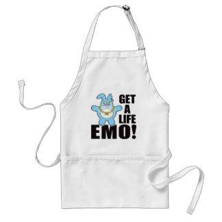 Emo Bad Bun Life Adult Apron
