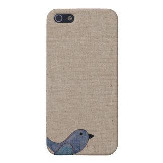 Emo Blue Bird iPhone SE/5/5s Cover