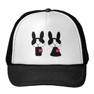 Emo Boy Emo Girl Trucker Hats