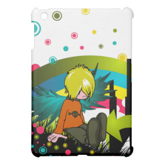 Emo Boy Under Rainbow - / for  iPad Mini Covers