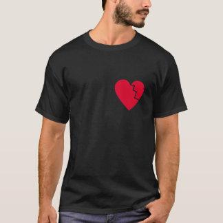 Emo Broken Heart T-Shirt