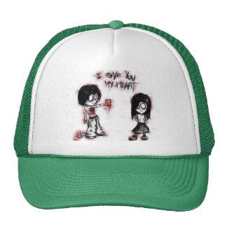 emo cartoon hat