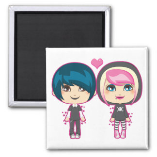 Emo Couple Magnet