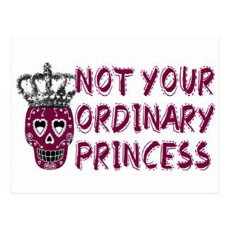 Emo /dark/tough/Princess Tarjeta Postal