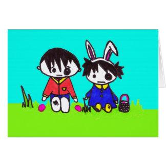 Emo Easter Card