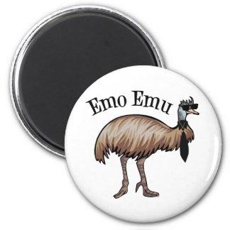 Emo Emu 2 Inch Round Magnet
