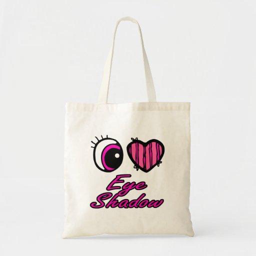 Emo Eye Heart I Love Eye Shadow Bag
