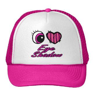 Emo Eye Heart I Love Eye Shadow Trucker Hat