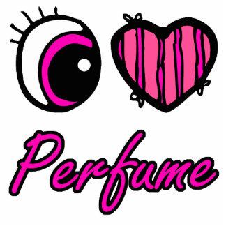 Emo Eye Heart I Love Perfume Acrylic Cut Out