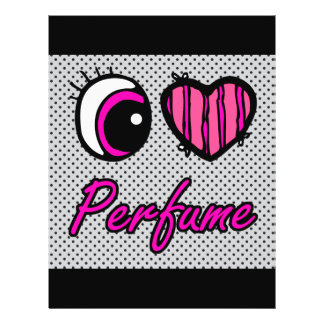 Emo Eye Heart I Love Perfume Flyer
