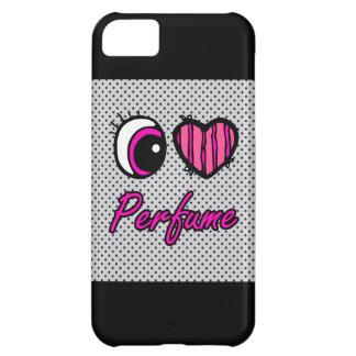 Emo Eye Heart I Love Perfume iPhone 5C Case